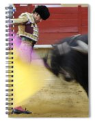 Matador Jose Tomas Iv Spiral Notebook