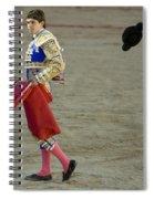Matador Sebastian Castella II Spiral Notebook