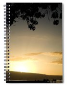 Maui Gold Spiral Notebook