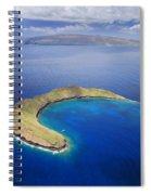 Maui, View Of Islands Spiral Notebook