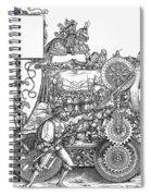 Maximilian I 1459-1519 Spiral Notebook