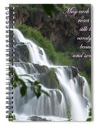 May Each New Day Bring... Spiral Notebook