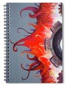 Mecha Uprising Spiral Notebook