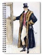 Mens Fashion, 1894 Spiral Notebook