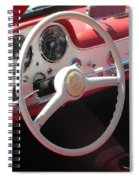 Mercedes 300sl Dashboard Spiral Notebook