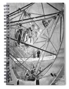 Mercury Program, Mastif Astronaut Spiral Notebook