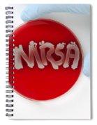 Methicillin Resistant Staphylococcus Spiral Notebook