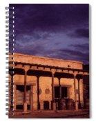 Mexican Cantina Rio Lobo Set Old Tucson Arizona 1970-1980 Spiral Notebook