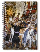 Mexico: 1810 Revolution Spiral Notebook