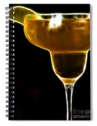 Mexico Gold . Lime Margarita Spiral Notebook