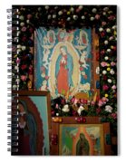 Mexico Our Lady Of Guadalupe Pilgrimage Spiral Notebook