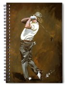 Miguel Angel Jimenez Spiral Notebook