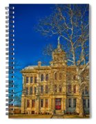 Milam County Courthouse Spiral Notebook
