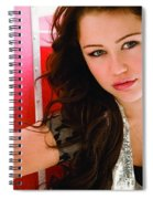 Miley Cyrus Spiral Notebook