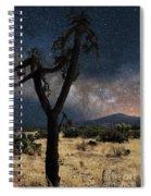 Milky Way 3 Spiral Notebook