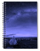Milky Way Heaven Spiral Notebook