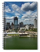Milwaukee Wisconsin Spiral Notebook