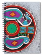 Mimbres Inspired #1a Spiral Notebook