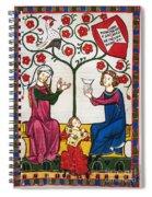 Minnesinger Lieder Spiral Notebook