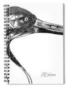 Miracle Bird Spiral Notebook