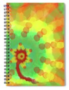 Sunflakes  Spiral Notebook