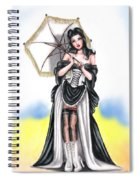 Miss Flirt Spiral Notebook
