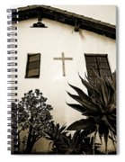 Mission Cross Spiral Notebook
