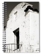 Mission Stucco Building Spiral Notebook