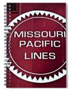Missouri Pacific Lines Spiral Notebook
