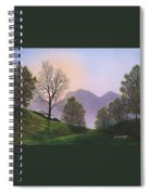 Misty Spring Meadow Spiral Notebook