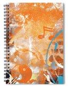 Modern Art Beyond Control Spiral Notebook