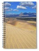 Mojave Kelso Dunes Landscape Spiral Notebook