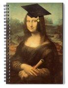 Mona Lisa  Graduation Day Spiral Notebook