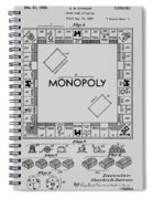Monopoly Patent 1935 Spiral Notebook