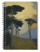 Monterey Cypress Spiral Notebook