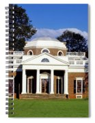 Monticello Spiral Notebook