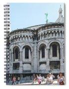 Montmarte Paris Art On The Street Spiral Notebook