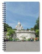 Montmarte Paris Sacre-coeur Spiral Notebook