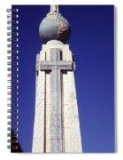 Monumento Al Divino Salvador Del Mundo Spiral Notebook