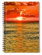 Moorea Sunset Spiral Notebook