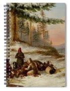 Moose Hunters Spiral Notebook