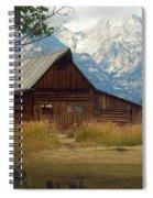 Mormon Row Barn Spiral Notebook