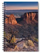 Morning At Colorado National Monument Spiral Notebook