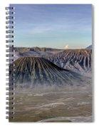 morning light Mount Bromo - Java Spiral Notebook