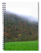 Morning Mountain Mist Spiral Notebook