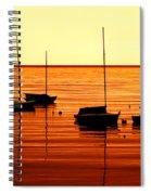 Morning Over Rockport Spiral Notebook