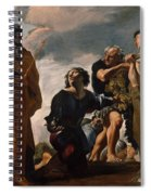 Moses And The Messengers From Canaan Spiral Notebook