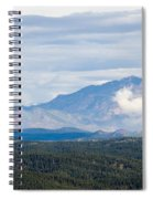 Mosquito Range Mountains In Storm Clouds Spiral Notebook