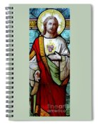 Most Sacred Heart Of Jesus Spiral Notebook