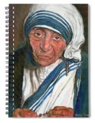 Mother Teresa Spiral Notebook